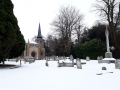 St Leonard's in the snow